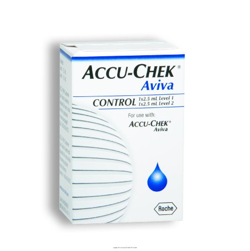 Cheap ACCU-CHEK Aviva 2 Level Glucose Control Solution, Accuchek Aviva 2 Lvl Cntrl Sol, (1 EACH, 1 EACH) (UHS-BIO04528638001-1EACH)