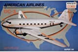 AMERICAN AIRLINES DC-3 Super 144 Airplane #14490 Plastic Model Kit by Minicraft Model Kits