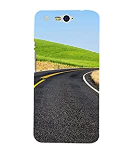 EPICCASE Road to Success Mobile Back Case Cover For InFocus M812 (Designer Case)