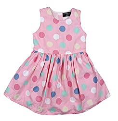 POLKA DOT PINK SUMMER FROCKS
