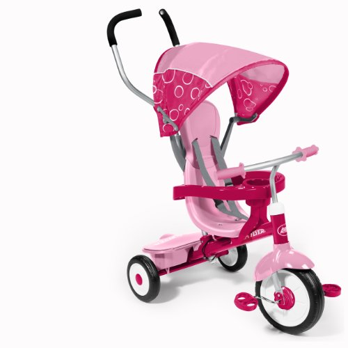Great Features Of Radio Flyer 4-in-1 Trike, Pink