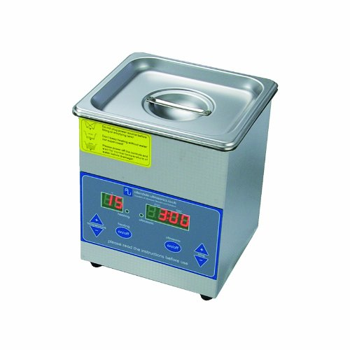 Digital 1,3 Liter Profi Ultraschallreiniger Ultraschallbad Tank beheizt