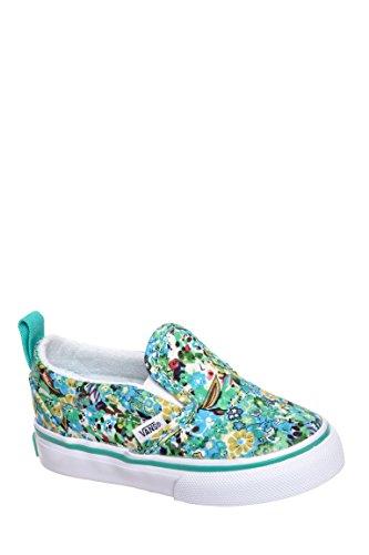 Kid's Ditsy Floral Slip-On V Sneaker