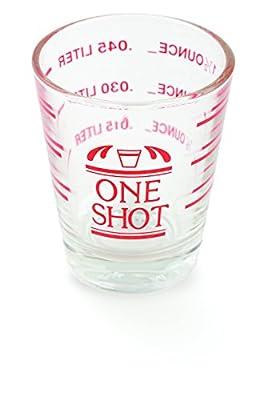 Mini Clear Measuring Shot Cup / Glass - 1.5 Oz