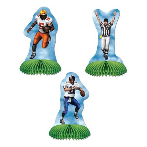 Football Playmates (3 place cards included)    (3/Pkg)