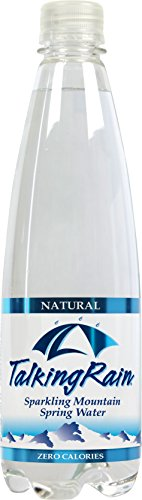 TalkingRain Sparkling Water, Natural, 16.9 Ounce (Pack of 24) talkingrain sparkling water lemon lime 16 9 ounce pack of 24