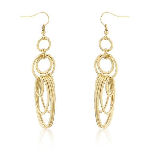 18k Gold Hoop Earrings
