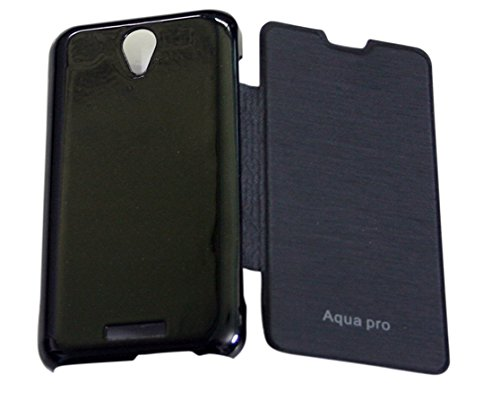 Premium Quality Flip Cover for Intex Aqua Pro  available at amazon for Rs.138