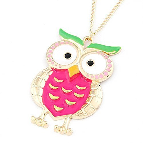fuyunshine-colored-glazed-owl-pendant-necklaceowl-pendant-necklace-for-womengirls