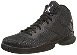 Nike Jordan Men\'s Jordan Super.Fly 4 Black/White/Drk Grey/Infrrd 23 Basketball Shoe 10 Men US