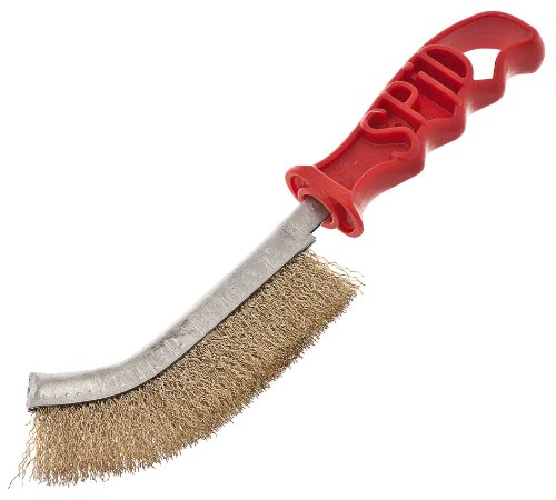 Cheapest Prices! Browne Foodservice 4203 Plastic Handled Broiler/Grill Brush, 11-Inch