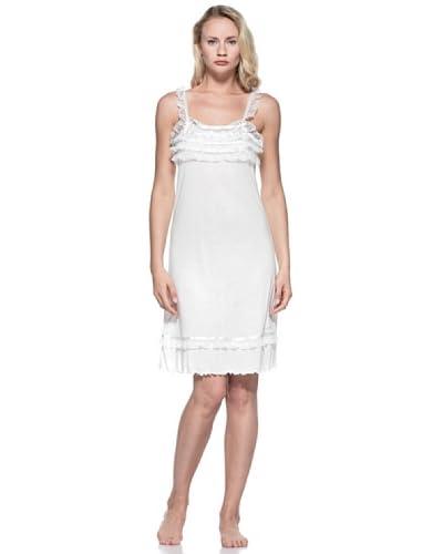 Blugirl Camicia da Notte [Bianco]
