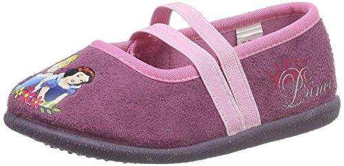 Disney PrinzessinGirls Kids Ballerina Houseshoes - Pantofole con imbottitura leggera  Bambina , Rosa (Pink (Fra/Pnk 359)), 28