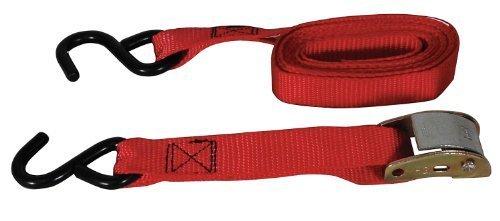 Tie-Down Strap, Cam Buckle, 10Ftx1In, 300Lb