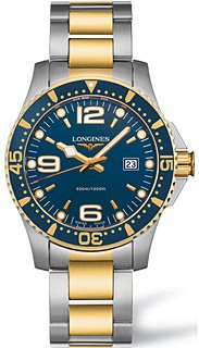 Longines Watches Longines Sport Collection Hydroconquest Water Resisitant 1000 feet Men's Watch