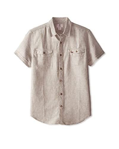 Timberland Men's Hubbard River Linen Short Sleeve Shirt