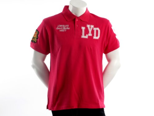 Lenny&loyd 26121mosquito Straight Pink Man Polo Shirts Men - M