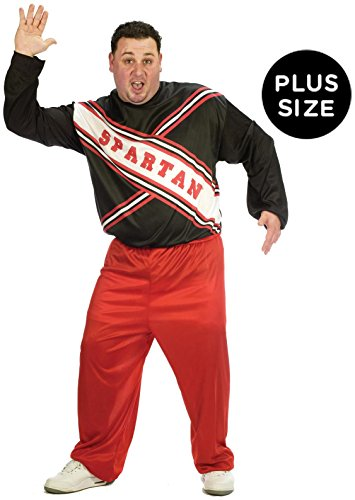 Fun World - SNL Spartan Cheerleader Male Adult Plus Costume