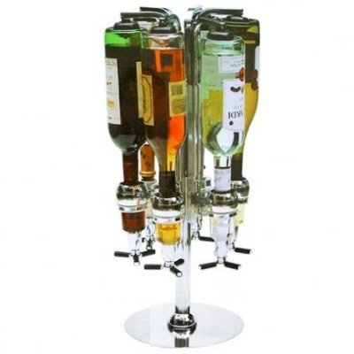 Super Deal - Bar Boy 6 Bottle Alcohol Dispenser (Packages of FOUR Bar Boys) in One Case Special