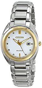 Citizen Women's EM0314-51A Celestial Analog Display Japanese Quartz Two Tone Watch