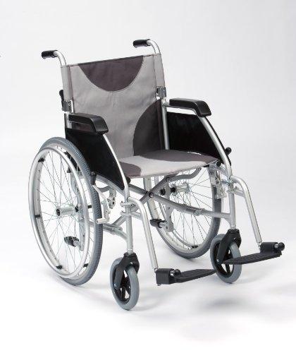 Fauteuil roulant manuel de transfert en aluminium ultraléger Assise 51 cm