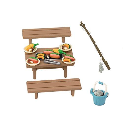 """Epoch Sylvanian Families Sylvanian Family Doll """"Family BBQ Set Ka-615"""" - 1"""