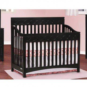 Simmons Callisto Crib N More (Black) front-331194