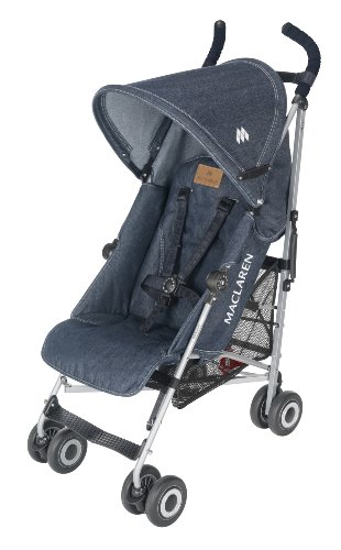 Maclaren Quest Sport Stroller, Denim (Discontinued by Manufacturer)