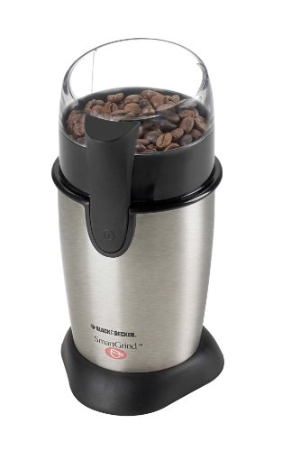 BLACK+DECKER CBG100SC Coffee Grinder, Stainless Steel