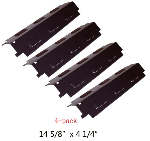 Buy 98531(4-pack) Porcelain Steel Heat Plate Replacement for Select Gas Grill Models By Charbroil, Kenmore, Grill King and Others