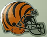 Cincinnati Bengals Helmet Logo Chrome NFL Car Magnet Amazon.com