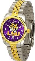 "Louisiana State Fightin Tigers NCAA AnoChrome ""Executive"" Mens Watch"