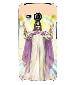 ColourCraft Lord Jesus Back Case Cover for SAMSUNG GALAXY S3 MINI I8190