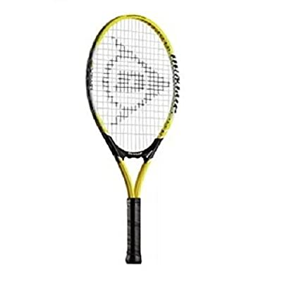 Dunlop Nitro 23 Tennis Racquet, Junior 23-inch  (Yellow/Black)