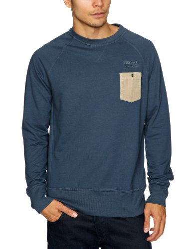 Firetrap Drumfire Men's Sweatshirt Navy Large