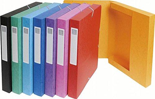 Exacompta 50300E Scatole Archivio, 24x32 cm, Multicolore