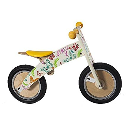 Kurve Balance Bike Butterflies by Kiddimoto