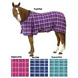 EQ EZ-Care Stable Sheet Plaid 81 Purple Plaid