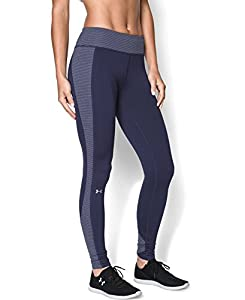 Under Armour Women's Coldgear Stripe Inset Tights