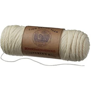 Lion Brand Yarn Fishermen's Wool Yarn
