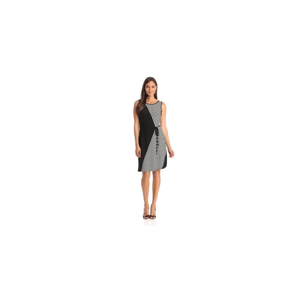 Sandra Darren Womens Sleeveless Knit Dress