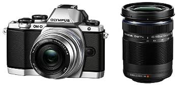 OLYMPUS OM-D E-M10 ダブルズームキット シルバー ミラーレス一眼 OM-D E-M10 DZKIT SLV