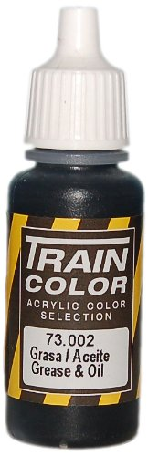 Vallejo Train Weathering Grease and Oil Paint, 17ml