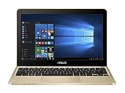 Asus E200HA-FD0006TS 11.6-inch Laptop (Atom x5-Z8300/2GB/32GB/Windows 10/Integrated Graphics), Gold