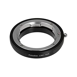 Fotodiox Lens Mount Adapter, Leica M Lens to Sony Alpha Nex E-mount Camera Adapter
