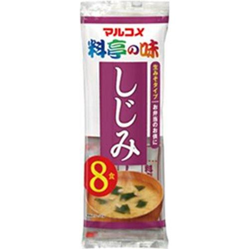 マルコメ 生みそ汁 料亭の味しじみ 8食×12袋