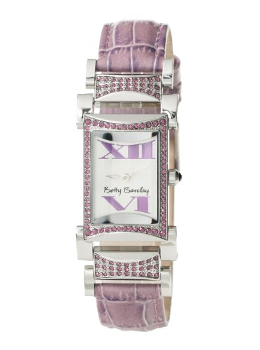 Betty Barclay BY032.00.346.065 Ladies Stone Encrusted Purple Leather Strap Watch