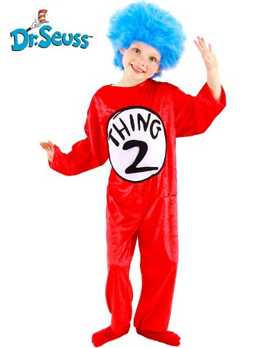 Dr. Seuss Thing 1 & 2 Childrens Costume