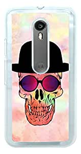 Moto G3 Cover , Premium Quality Designer Printed 2D Transparent Lightweight Slim Matte Finish Hard Case Back Cover for Moto G 3rd Generation/Moto G Turbo by Tamah