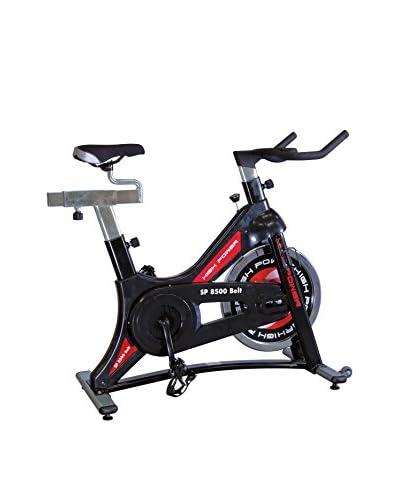 High Power Bicicleta Estática Sp 8500 Belt Negro / Rojo